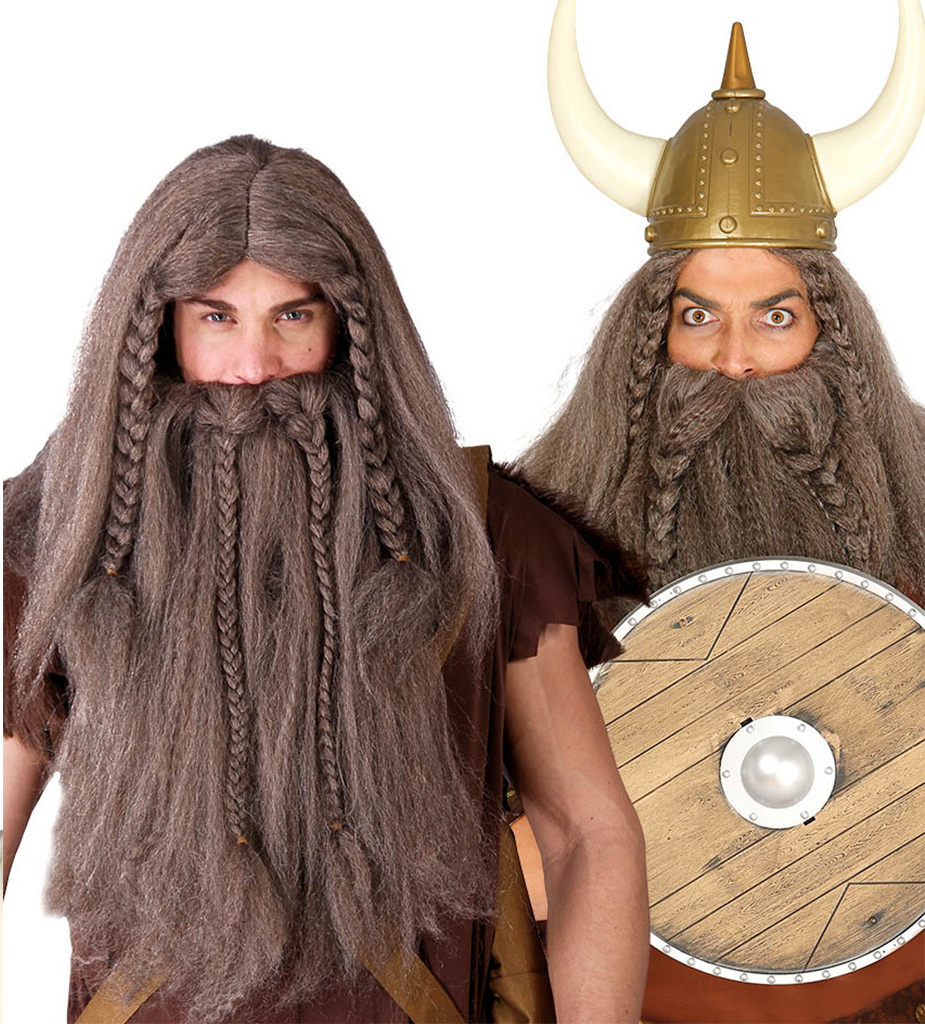 Peruca si Barba Viking
